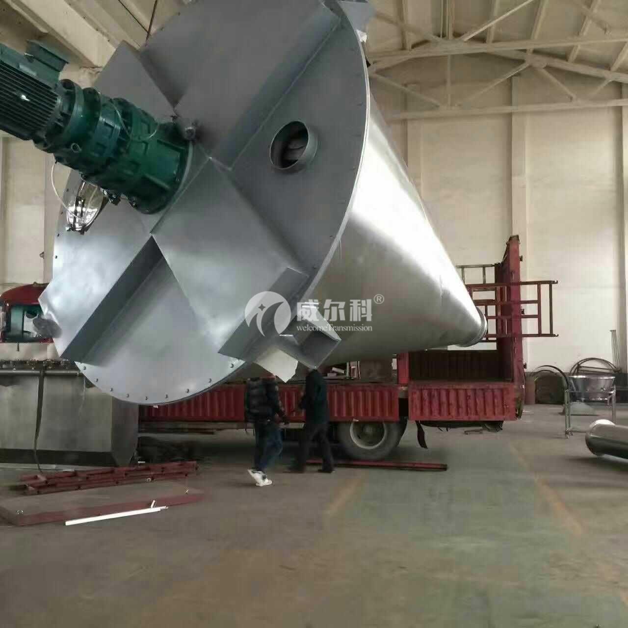 威尔科减速机成功应用于化工设备行业